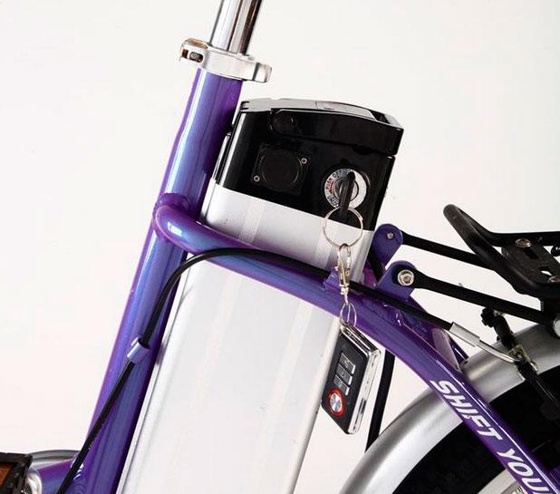 Электровелосипед в Москве Ecobike Swan можно отслеживать по GPS с iPad